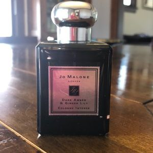 Jo Malone Dark Amber and Ginger Lily cologne